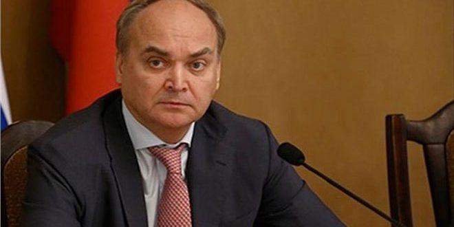سفير روسي: موسكو مستعدة لمساعدة واشنطن لمكافحة فيروس كورونا