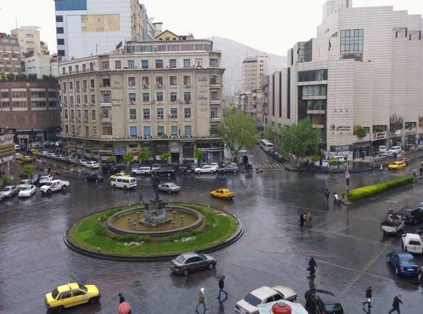 أمطار غزيرة فوق مناطق متفرقة من البلاد