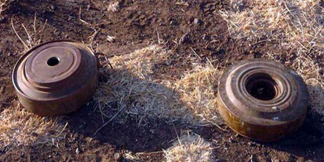 انفجار عبوة في قرية الرحا بالسويداء