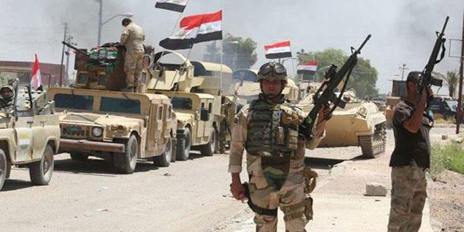 """الحشد يصد هجوماً لـ""""داعش"""" في سامراء"""
