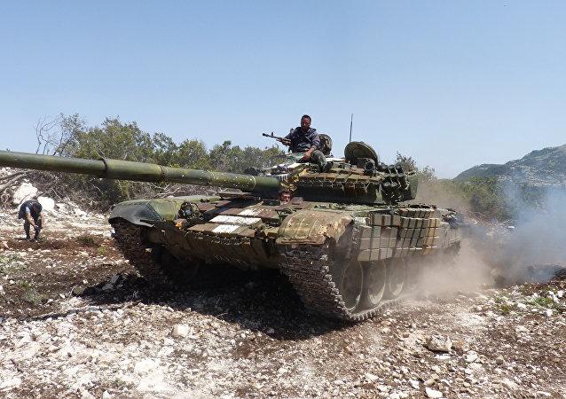 الجيش يتقدم بريف حماة و يسيطر على وادي حسمين