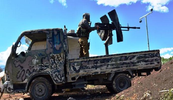 الجيش يبدأ عمليات عسكرية على محور أبو دالي بريف إدلب