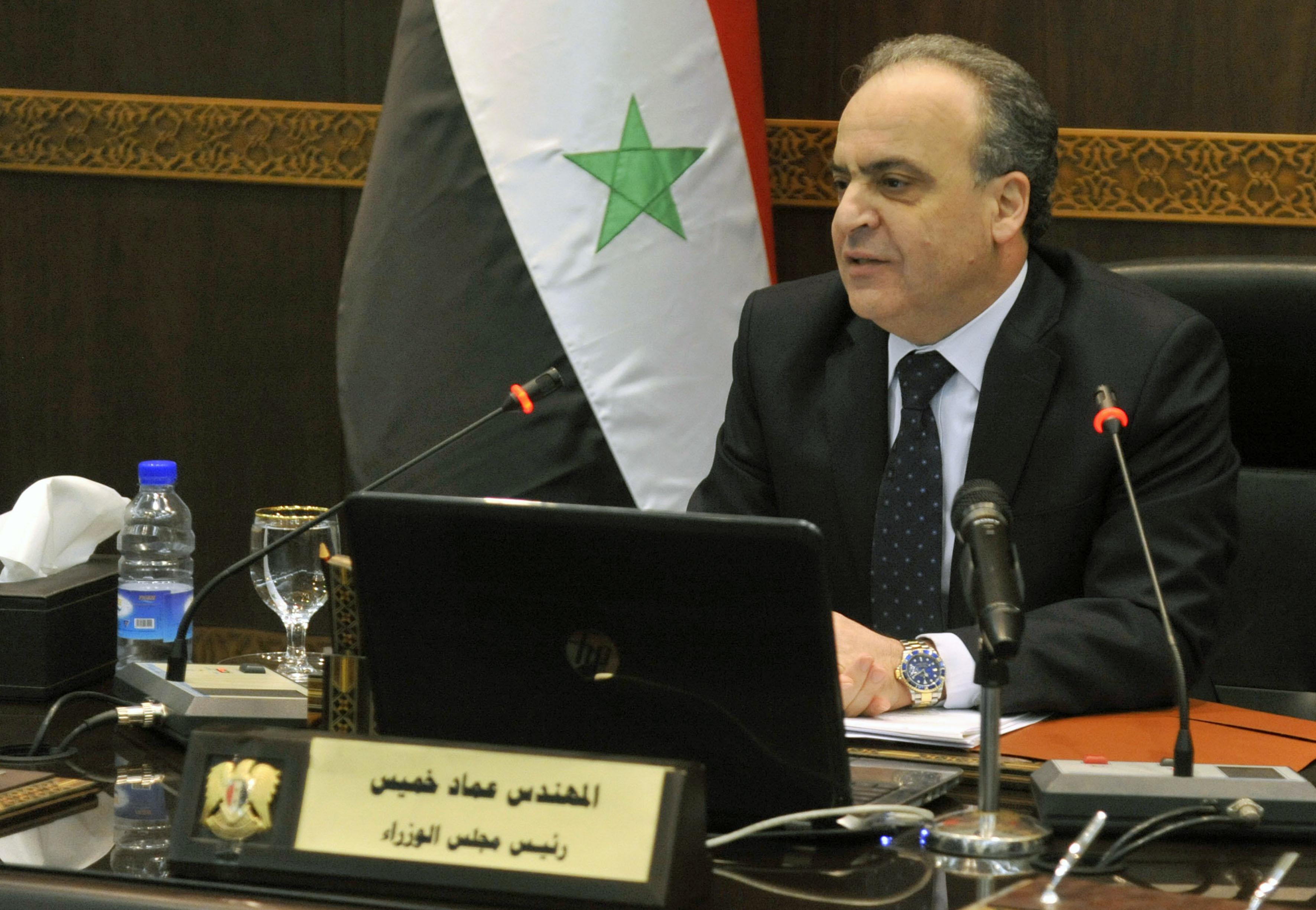 رئيس مجلس الوراء المهندس عماد خميس