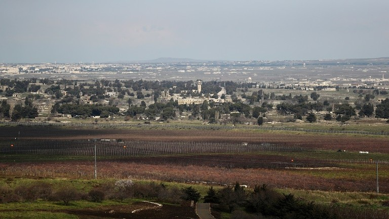 انفجار لغم في الجولان السوري المحتل