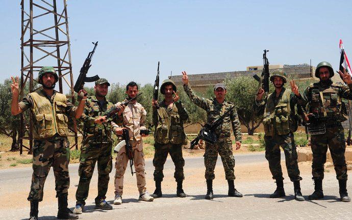 بالصور .. خسائر الإرهابيين على محور الجلمة بريف حماه الشمالي الغربي