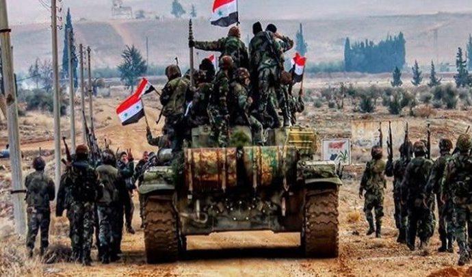 ريفا إدلب وحماة.. إصابات دقيقة للجيش على مواقع الإرهاب
