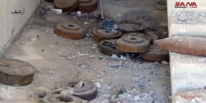 استشهاد طفل بانفجار لغم من مخلفات الإرهابيين في القلمون