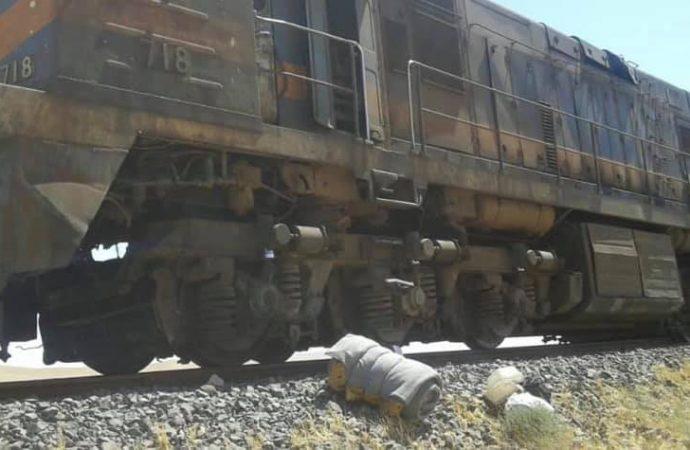 اعتداء إرهابي يستهدف قطار شحن الفوسفات بريف حمص الشرقي