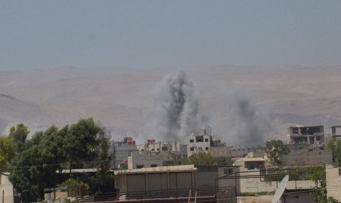قريتي جورين والجيد بريف حماة تتعرضان لاعتداءات إرهابية