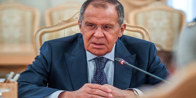لافروف: تم إحراز تقدم كبير في عملية التسوية السياسية للأزمة في سورية