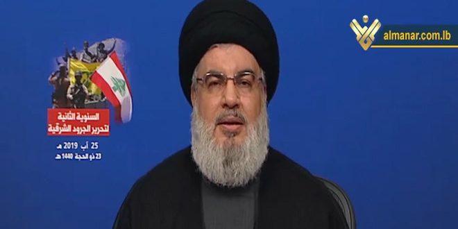 السيد نصر الله: سنرد على أي عدوان إسرائيلي جديد على لبنان
