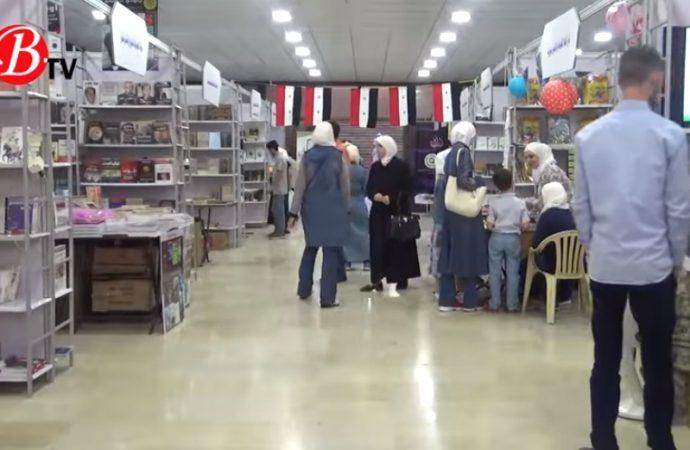 فعاليات معرض الكتاب الحادي والثلاثين في مكتبة الأسد (فيديو)