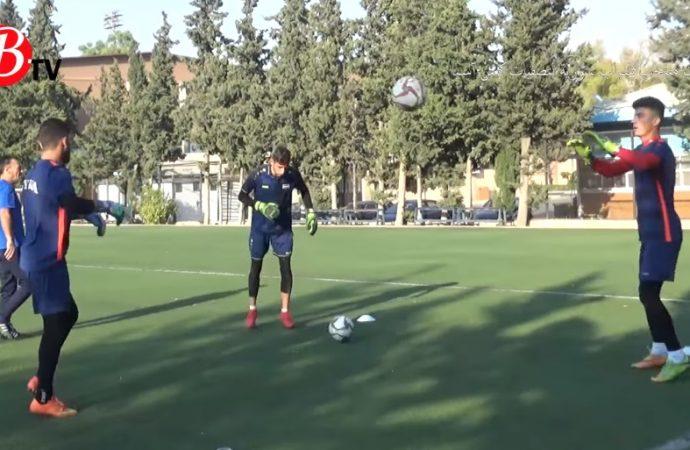 كاميرا Btv تواكب تحضيرات منتخب شباب سوريةلتصفياتكأس آسيا (فيديو)