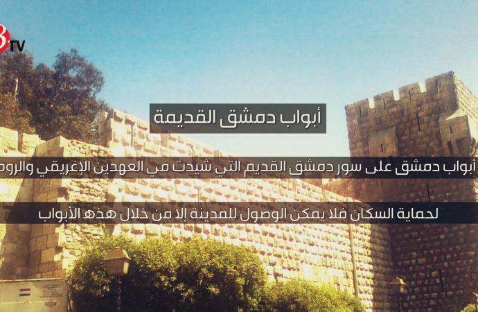 فيديوغراف.. أبواب دمشق القديمة
