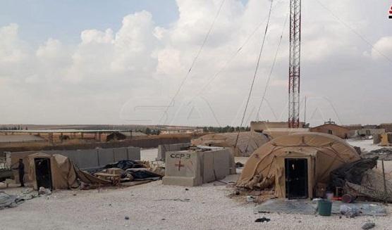 بالصور.. القاعدة الأمريكية الغير الشرعية بالسعيدية بعد إخلائها