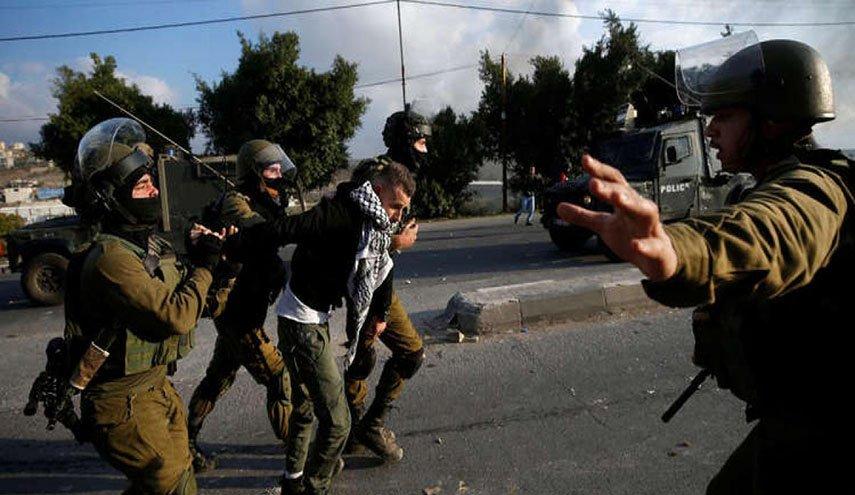إصابة فلسطينيين في نابلس