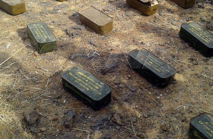 ريف السويداء.. ضبط ذخائر وأدوية من مخلفات الإرهابيين