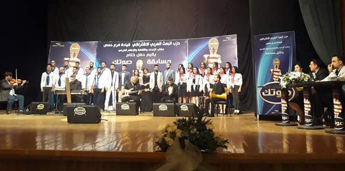 """وضاح بلال يفوز بمسابقة """"صوتك"""" (صور)"""