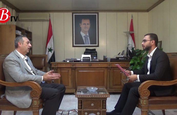 حوار خاص مع محافظ ريف دمشق.. تكرار الحوادث المرافقة للسيول وقضايا خدمية عديدة (فيديو)