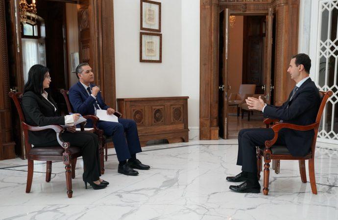 الرئيس الأسد: المحتل التركي هو وكيل الأمريكي في الحرب