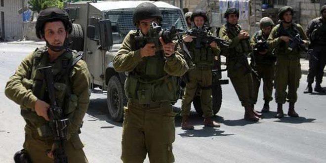 اعتقال ثلاثة فلسطينيين في الضفة الغربية