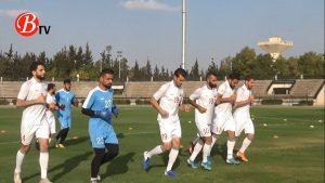 كاميرا BTV تواكب تدريبات منتخب رجال سورية لكرة القدم عشية التوجه إلى الإمارات (فيديو)