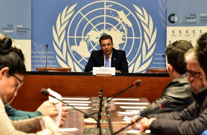 الكزبري: وضع دستور جديد يحقق أهداف الدولة السورية