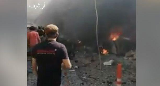 الرقة.. أكثر من ٢٠ شهيد ومصاب بانفجار سيارة مفخخة في بلدة سلوك