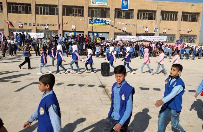 شبيبة الثورة تستقبل المنتسبين الجدد في الرقة