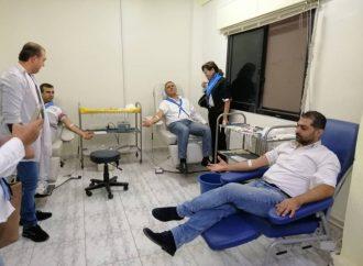 حملة تبرع بالدم و فعاليات تطوعية لطلائع البعث في اللاذقية