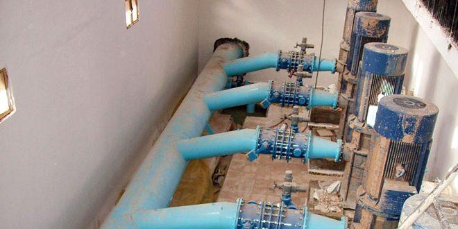 الحكسة.. بدء ضخ المياه من محطة آبار علوك