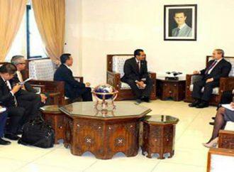 المقداد ورؤوف.. تعزيز العلاقات بين سورية وأندونيسيا