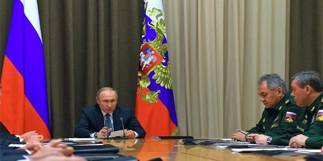 الرئيس الروسي: أسطولنا مهماً في ضمان قدراتنا الدفاعية