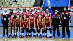 ناشئات سورية بطلات غرب آسيا تحت 16 عاماً بكرة السلة (فيديو)