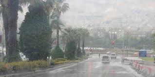 أمطار غزيرة في أغلب المحافظات