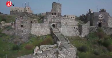 قلعة المرقب شموخ حضارة وحصن دفاع