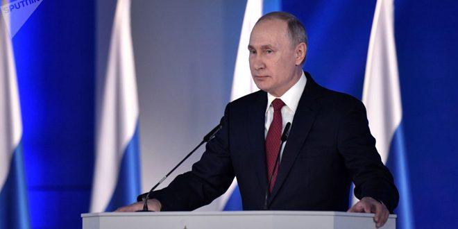 الرئيس الروسي: لا ننوي خوض حرب ضد أحد