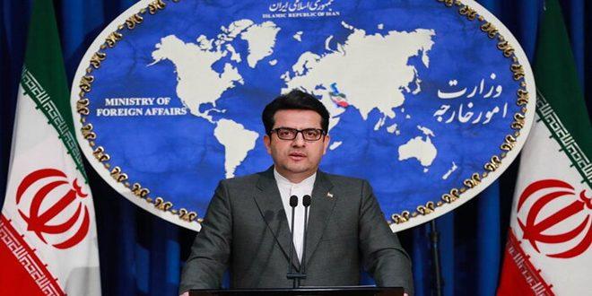 طهران: وجود القوات الأميركية في منطقة الخليج عامل مزعزع للاستقرار والأمن