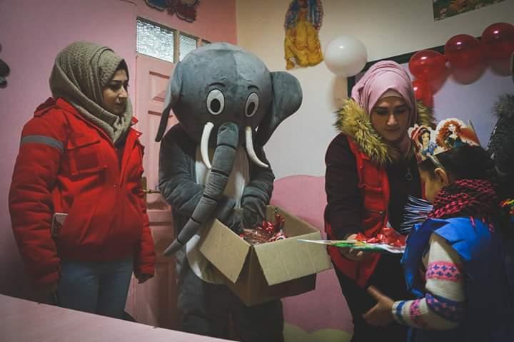 الهلال الأحمر العربي السوري.. مهام وجهود كبيرة في دير الزور