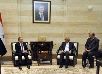 المهندس خميس يلتقي وزير التربية الإيراني ويبحثان التعاون بين البلدين