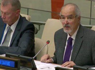 الجعفري: الدول الراعية للإرهاب دفعت باتجاه تشكيل ست آليات أممية لفبركة اتهامات ضد سورية