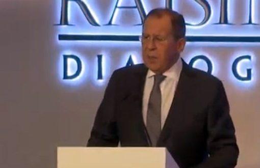 لافروف: على الدول الغربية التوقف عن تسييس موضوع المساعدات الإنسانية في سورية