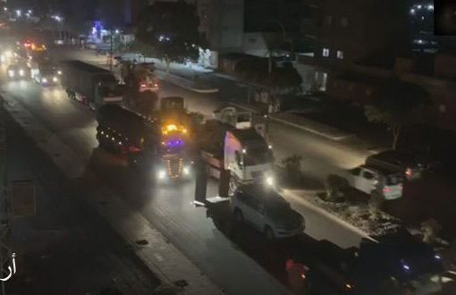 الاحتلال الأمريكي يدخل شاحنات محملة بتعزيزات عسكرية ولوجيستية إلى مناطق آبار النفط المحتلة في الحسكة ودير الزور