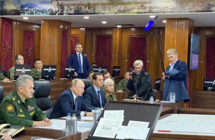 زيارة الرئيس بوتين لدمشق ولقاءه الرئيس الأسد «صور + فيديو»