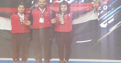 منتخب سورية يحرز تسع ميداليات في بطولة آسيا لرفع الأثقال