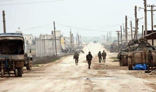 معرتماتر ومعرتصين - الجيش العربي السوري