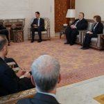 الرئيس الأسد: الشعب السوري مصمم على تحرير كامل الأراضي السورية من الإرهاب