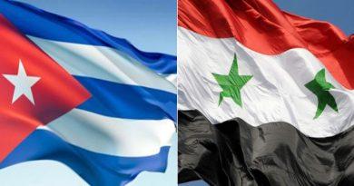 إعلاميون وأطباء كوبيون: الإجراءات القسرية الغربية على سورية عمل إجرامي