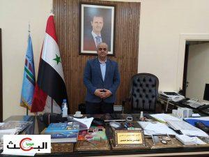 مدير الطيران المدني المهندس باسم منصور