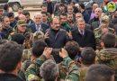 الهلال لقوى الجيش في حلب: انقل لكم محبة وتقدير القائد بشار الأسد